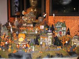 Dept 56 Halloween Village 2015 by If Only The Halloween Village From Department 56 Was Real It Is A