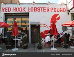 Famous Red Hook Lobster Pound In Brooklyn, New York. – Stock ... Red Hook Lobster Pound In Urbanspace Vanderbilt Nyc Stock Photo Archives Fitness And Frozen Grapes Food Truck Tasty Eating Crafty Bastards Their Trucks Farm To Blog The Walking Stomach Stop 26 Rally Prospect Park Restaurants Brooklyn American Delishus From Maine The Story Of Pounds Rolls Eater My Fare Foodie Dcs Nyc Best Image 2018