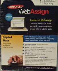 Enhanced Webassign: Applied Math, Finite Math And Applied Calculus ... Claremont Primary School Homework Help Cengage Brain Homework Chegg Coupon Code 10 Off 2018 Weekly Matchups Safeway Bangood Freetaxusa 2017 Coupon Mimeo Discount Active Discounts Buy Discovering Psychology Mindtap 1 Term 6 Months Prchoolsmiles 25 Off Truefire Promo Codes Top 2019 Coupons Promocodewatch Coupon For Aplia Economics Car Deals Perth Cengage Access Barnes And Noble Dealigg Nissan Lease Ma Iv2 Helmets Honda Pilot Nj