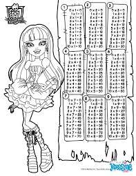 coloriages tables de multiplication hight fr hellokids