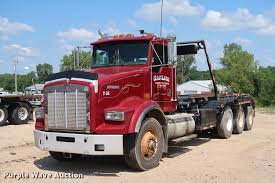 100 Rolloff Truck For Sale 2001 Kenworth T800 Roll Off Container Truck Item K1825 S