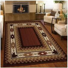 Excellent Lodge Style Rugs Roselawnlutheran In Cabin Area Modern