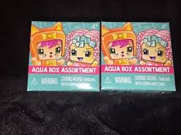 2 Mattel My Mini MixieQ s Aqua Box Assortment Figures Blind Bag