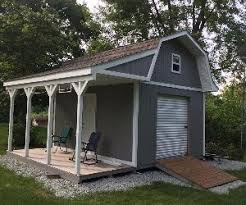 12x16 Storage Shed Plans by 12x16 Barn With Porch Plans Barn Shed Plans Small Barn Plans