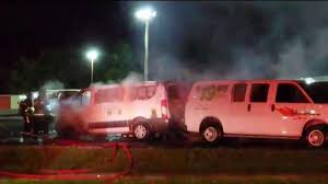 Investigation Underway After Fire In U-Haul Vans In Hartford - NBC ... Uhaul Truck Rental Reviews Good And Bad News Emerges From Cafes Fine Print Edmunds Cat All Day Four Ways To Crank Up Your Load Haul Productivity Moving Companies Comparison Performance Fuel Volvo Trucks Us 20 Lb Propane Tank With Gas Gauge Vs Diesel A Calculator My Thoughts How To Drive Hugeass Across Eight States Without 10 Foot Best Image Kusaboshicom Woman Arrested After Stolen Pursuit Ends In Produce