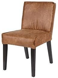 esszimmerstuhl rodeo leder cognac polsterstuhl stuhl