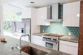 eichler kitchen remodel fireclay tiled backsplash mid century
