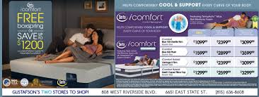 Serta Simmons Bedding Llc by Gustafson U0027s Furniture And Mattress With 200 000 Square Feet Of