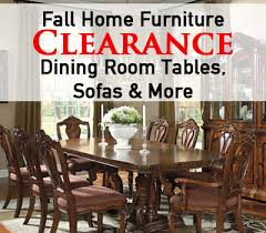 Fall Home Furniture Clearance