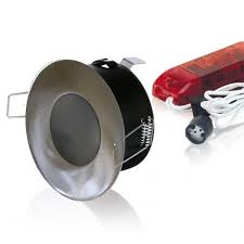 kit spot halogène étanche spécial salle de bains alu elecproshop