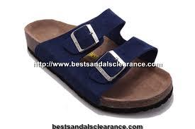 birkenstock arizona sandals mens sandals suede dark blue