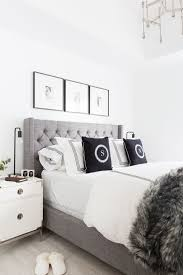 Joss And Main Tufted Headboard by Best 25 Grey Tufted Headboard Ideas On Pinterest Tufted Bed
