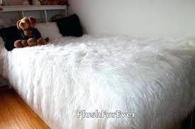 couvre lit fausse fourrure pas cher ordinary couvre lit fausse