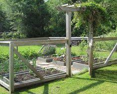 Vegetable Garden Fencing Ideas For Your Inspiration Traditional Landscape Using