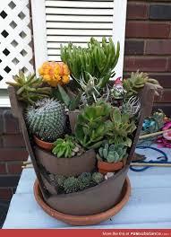 The 25 best Broken pot garden ideas on Pinterest
