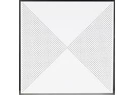 geometric pattern perforated metal ceiling tiles decorative lay