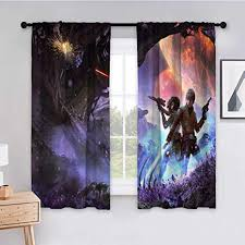curtains for bedroom 55x45 inch wars luke skywalker r2 d2 scifi artwork 96 for living room window treatment set kitchen curtains 2 panels