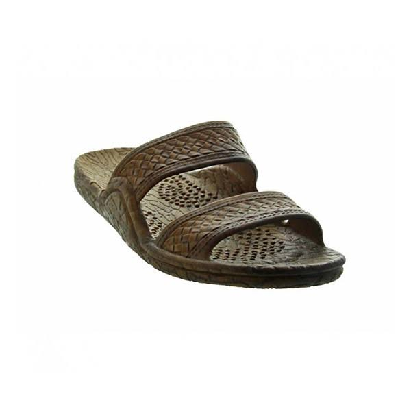 Pali Hawaii Genuine Original Classic Jesus Sandals - Light Brown, 6 US