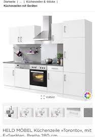 küchenzeile mit e geräte in mönchengladbach küchenzeilen