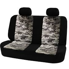 100 Camo Bench Seat Covers For Trucks Universal Rear Cover Safety Belts Access With Breathable