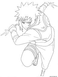Coloriage Manga Naruto 35 JeColoriecom