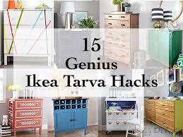5 diy ikea tarva dresser hacks that are totally genius