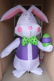 Walmart Halloween Inflatables 2012 by Celebrate Easter With A 7 Ft Airblown Inflatable Easter Bunny
