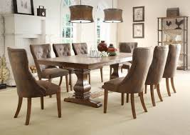 100 Oak Pedestal Table And Chairs Rustic Weathered Dining