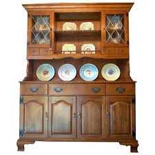 Image Of Ethan Allen Early American Solid Maple Hutch