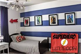 Vintage Superhero Wall Decor by A Little Of This A Little Of That Boys Superhero Room Tour