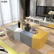 großhandel minimalistische moderne wohnzimmer möbel set mutifunction freie kombination kaffee tisch tv stand schrank wlnsfurniture