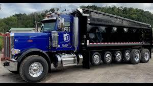 100 5 Axle Dump Truck PETERBILT 389 7 AXLE DUMP TRUCK TOUR AND OVERVIEW JST YouTube