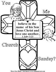 Free Scripture Coloring Pages Bible Coloring Pages