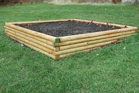 Landscape Timber Patio Landscape Timber Benefits Outdoor Patio