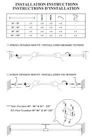 Amazon Curtain Rods 120 by Amazon Com Versailles Home Fashions Duo Indoor Outdoor Stainless