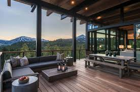 100 Mountain Modern Design Modern Home Hovers Above The Montana Wilderness