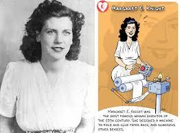 Margaret E Knight Inventor Extraordinaire