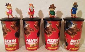 Alvin And The Chipmunks Cake Toppers by Alvin And The Chipmunks Road Chip Movie Theater Exclusive Cup