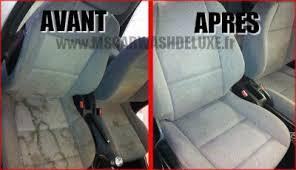 tache siege voiture nettoyage sièges tissus cuir prestige car wash