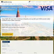 $60 Off A Hotel Booking Over $500 At Expedia (Pay With Visa ... Get 10 Off Expedia Promo Code Singapore October 2019 App Coupon Code Easyrentcars 5 Discount Coupon August 30 Off Offer Expediacom Codeflights Hotels Holidays Promotion Free 50 Hotel Valid Until 9 May Save 25 On Hotel Stays Of 100 Or More Discount From For All Bookings Made