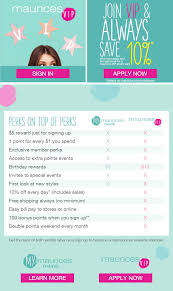 Maurices Promo Codes April 2014 How To Generate Coupon Code On Amazon Seller Central Great Maurices Celebrates Back School Style With Teachers Tacticalgearcom Promo Code When Does Nordstrom Half Top Codes And Deals In Canada September 2019 Finder 15 Off Soe Clothing Co Coupons Discount Codes April 2014 25 Love Ytoo Promo Coupons Shop Mlb Cell Phone Store Laptop 2018 Coral Pink Jewelry Slides Footbed Sandals Only 679 At Maurices The Ancestry Dna Best Offers For Day Sales