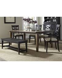 Hearthstone Collection 482 DR O6RTS 6 Piece Dining Room Set With Rectangular