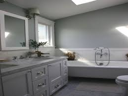 Bathroom Sloped Ceiling Design Decor Pictures Ideas Bathroom Tile Idea Use The Same On Floors And Walls Great Blue Lighting False Ceiling Designs With Fan Creamy 30 Awesome Diy Stenciled Ceilings That Exude Luxury With Pictures Best 50 Pop Design For Roof Zacharykristen Curtains Ideas Coolwer Curtain Small Bold For Bathrooms Decor Home Pictures Depot Panels Trim Lights 3203 25 Tile Ideas Small Bathrooms And How To Remove Mold Anti Attic Rooms 21 Ways To Capitalize On Your Top Floor Bob Vila Inspiring 20 Basement Budget Check