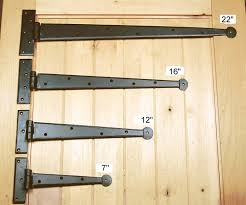 Strap Hinges Rustic Decorative And Dummy Garage Door