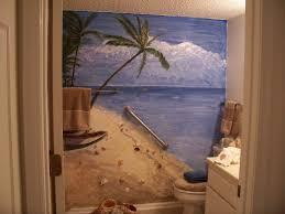 Paris Themed Bathroom Wall Decor by Beach Theme Bathroom Decorating Ideas