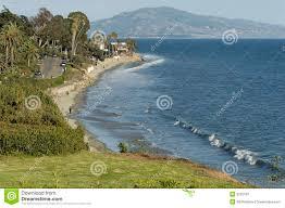 100 Santa Barbara Butterfly Beach CA Stock Image Image Of California Road
