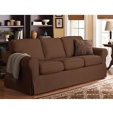 Sofa Throw Covers Walmart by Better Homes And Gardens Slip Cover Sofa Multiple Colors