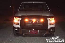100 Grills For Trucks 2015 2018 Raptor Style Extreme Amber LED Grill Kit F150LEDscom