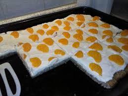 quark mandarinen blechkuchen low carb