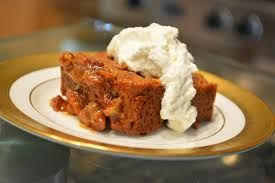 Cake Mix Pumpkin by Pumpkin Spice Cake With Pecan Caramel Drizzle And Chantilly Cream